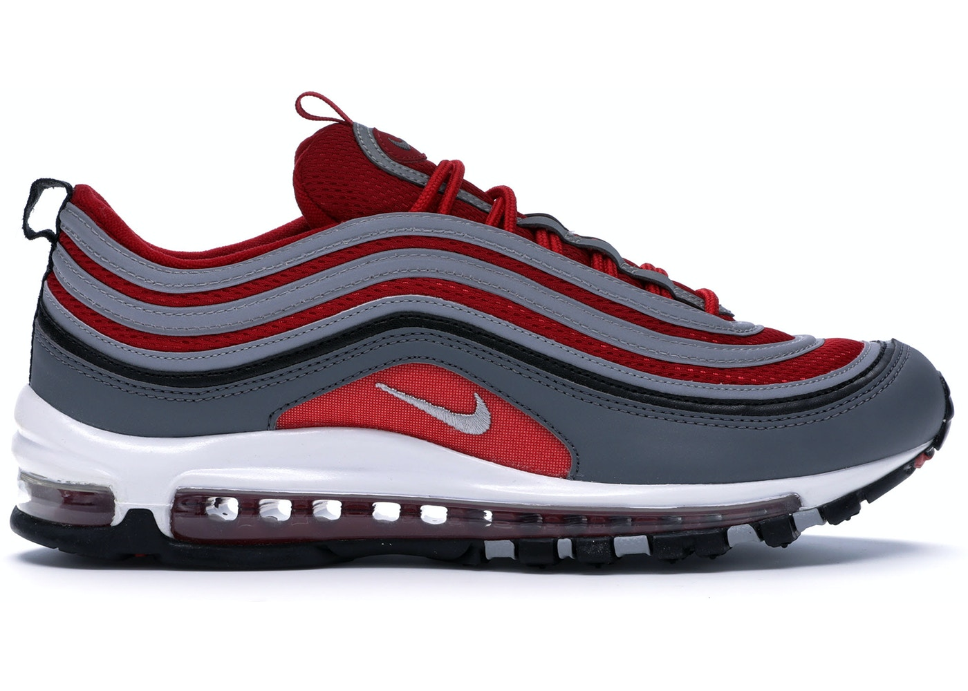 Nike Air Max 97 Dark Grey Gym Red 921826 007