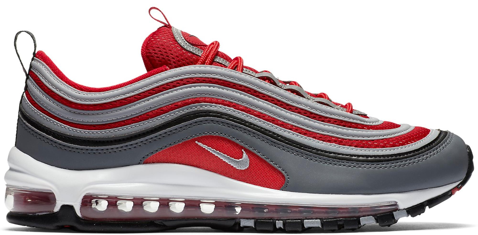 94313f0de81 Red Nike Air Max 97 Air Max 97 Footlocker