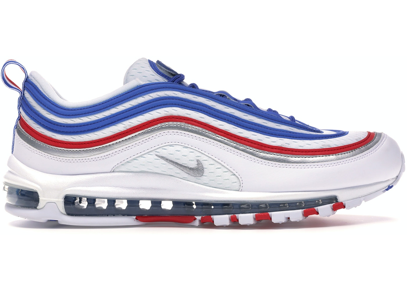 d01fea7b76 Air Max 97 Game Royal Metallic Silver University Red - 921826-404