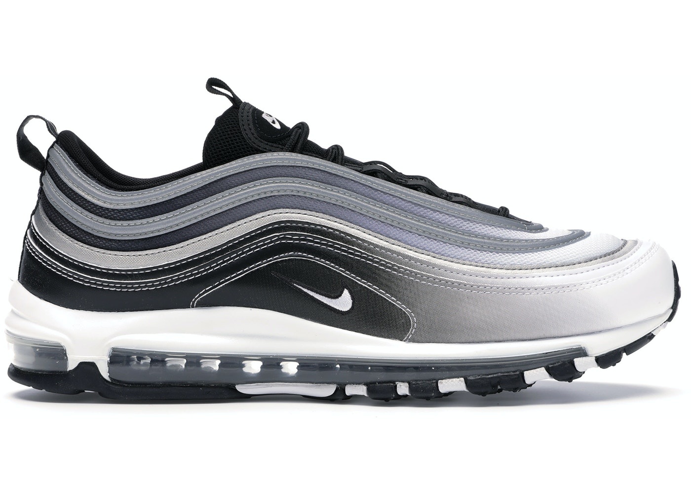 air max 97 white and black
