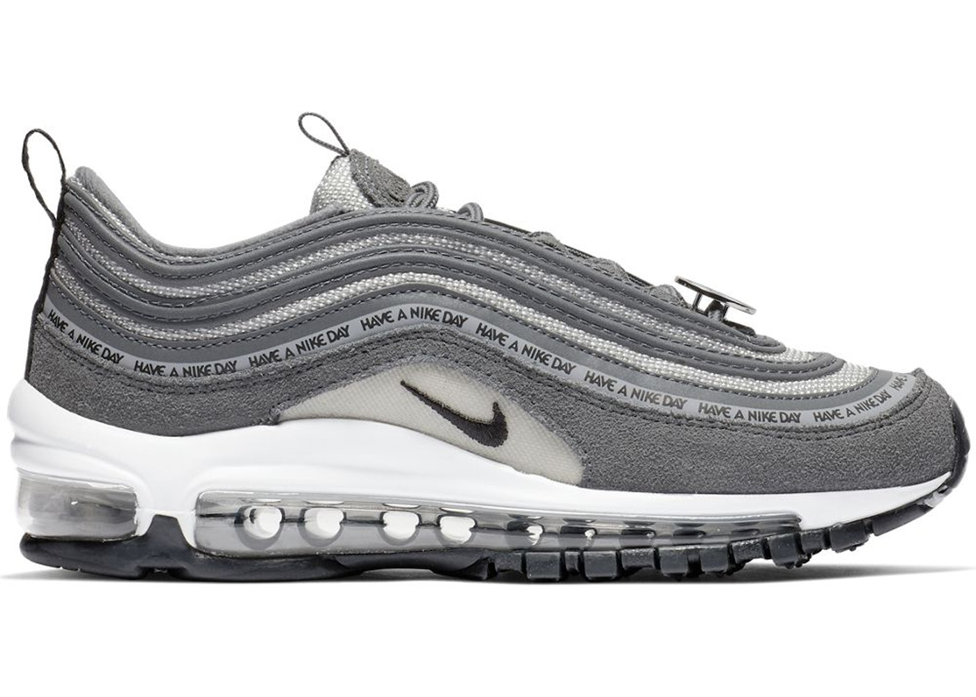 innovative design ec2ef b127f Air Max 97 Have a Nike Day Dark Grey (GS) - 923288-001