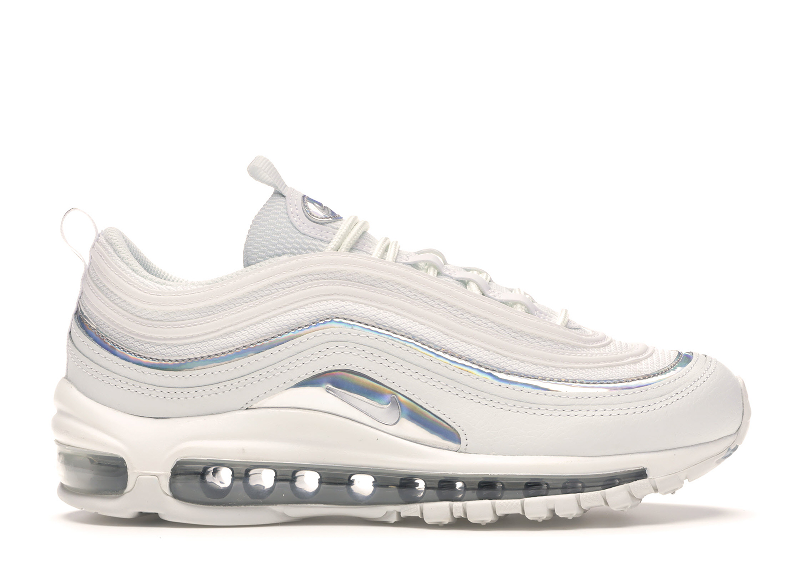 nike air max 97 iridescent trainers in black