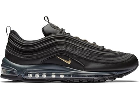 Nike Air Max 97 Leather Black Gold