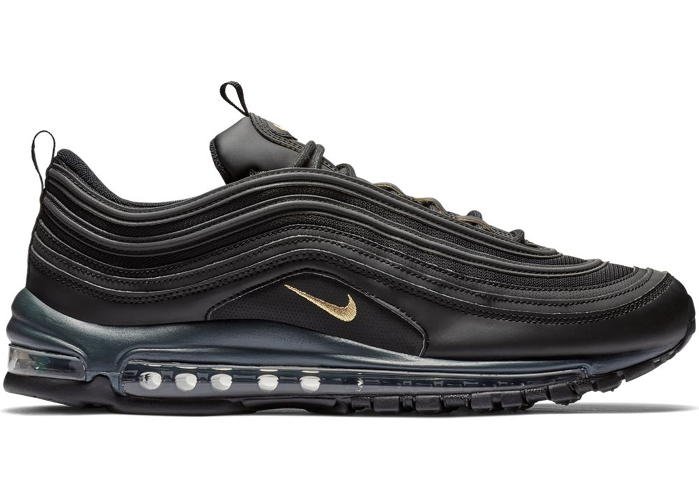 newest 2bccf f21d4 Air Max 97 Leather Black Gold