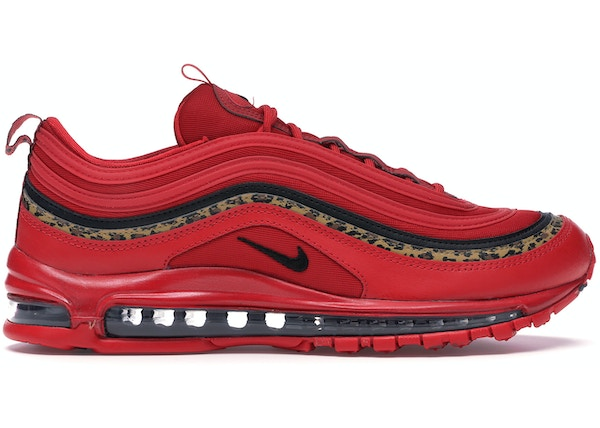 brand new 3007e 471ed Air Max 97 Leopard Pack Red (W)