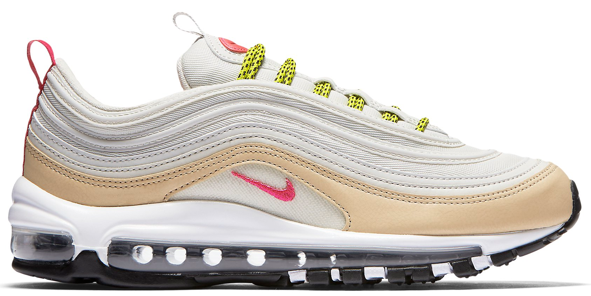 Nike Air Max 97 Light Bone Deadly Pink