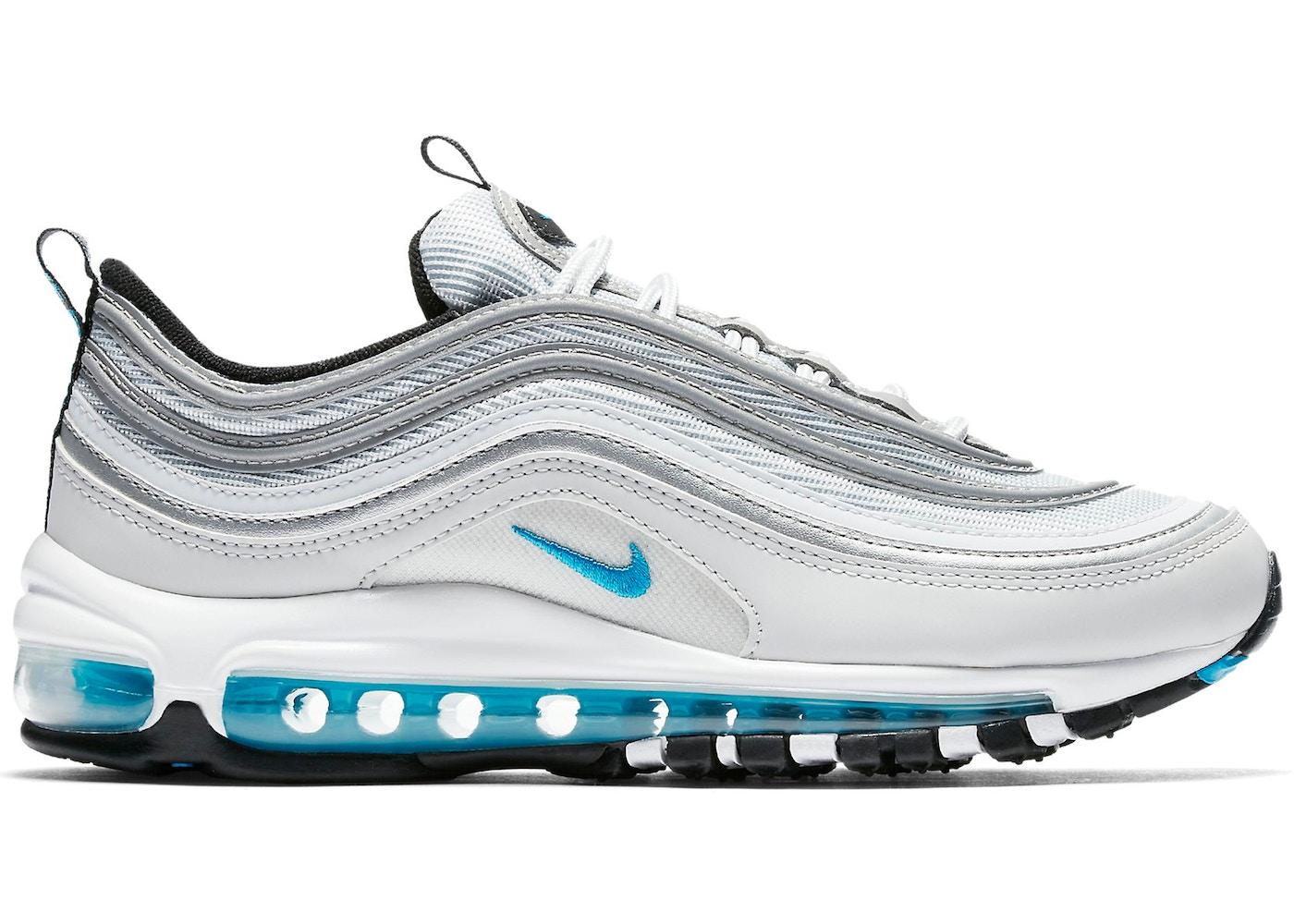 nike air max 97 blue silver