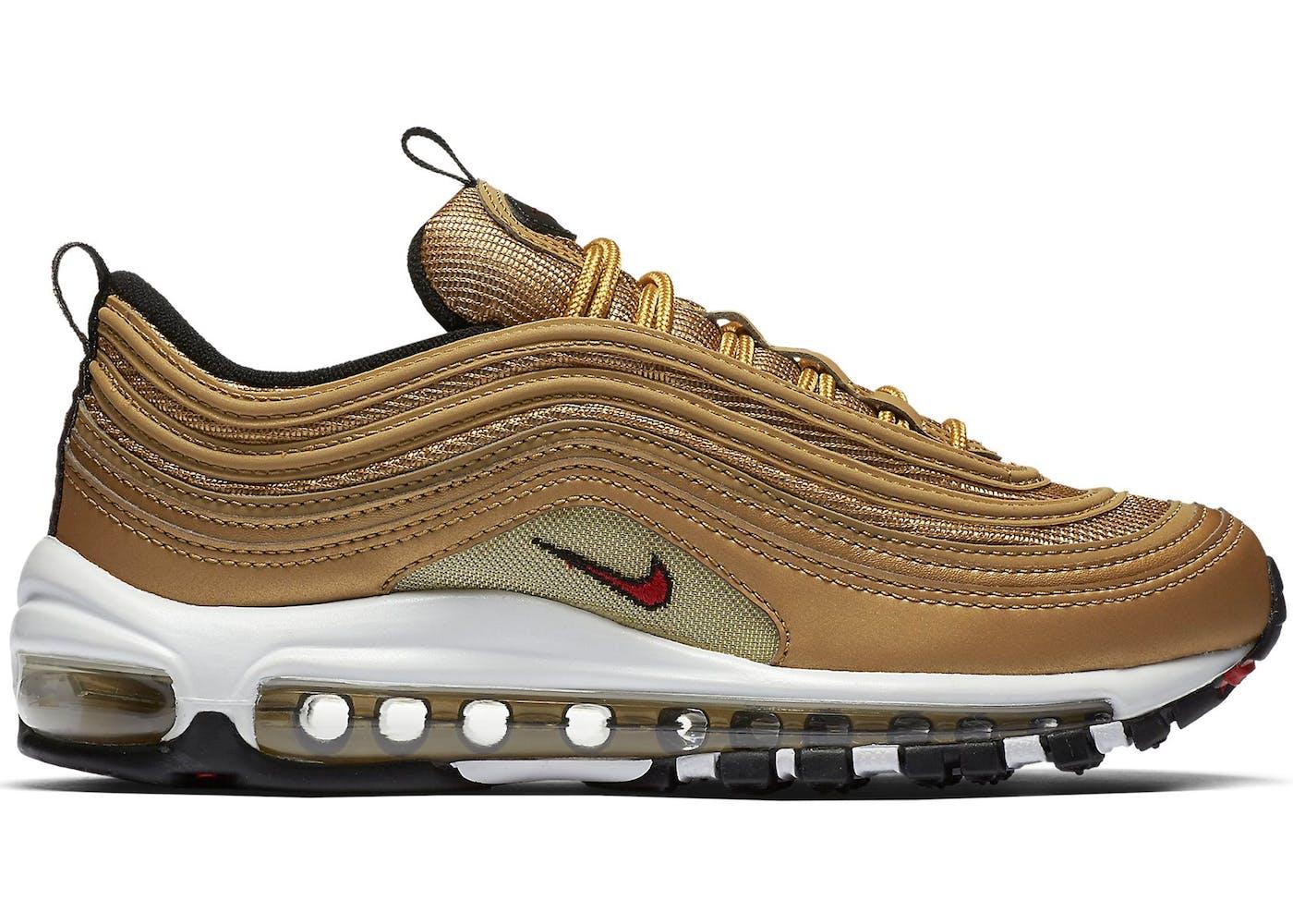 7cc9835529 Nike Air Max 97 Metallic Gold