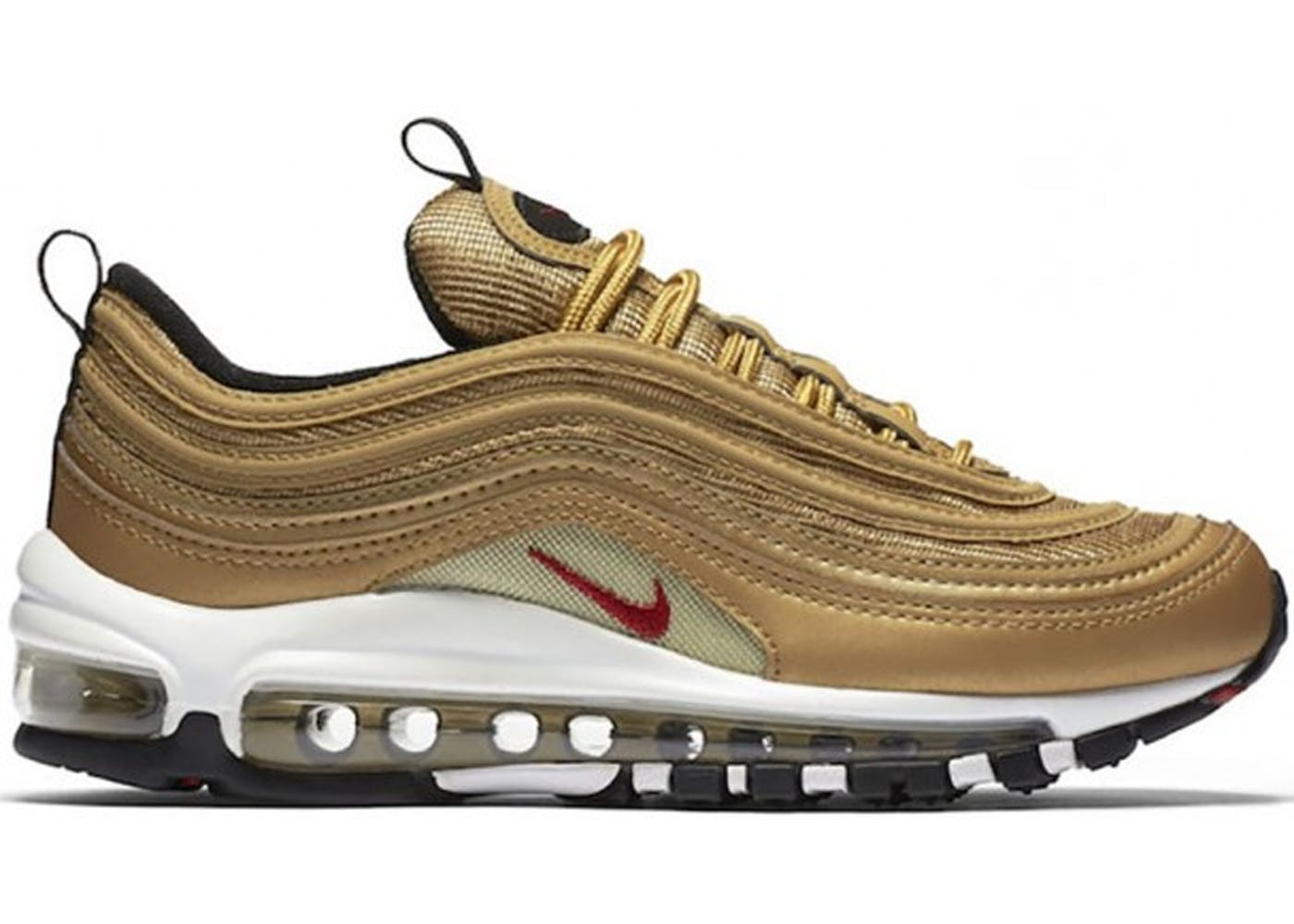 air max 97 nero oro