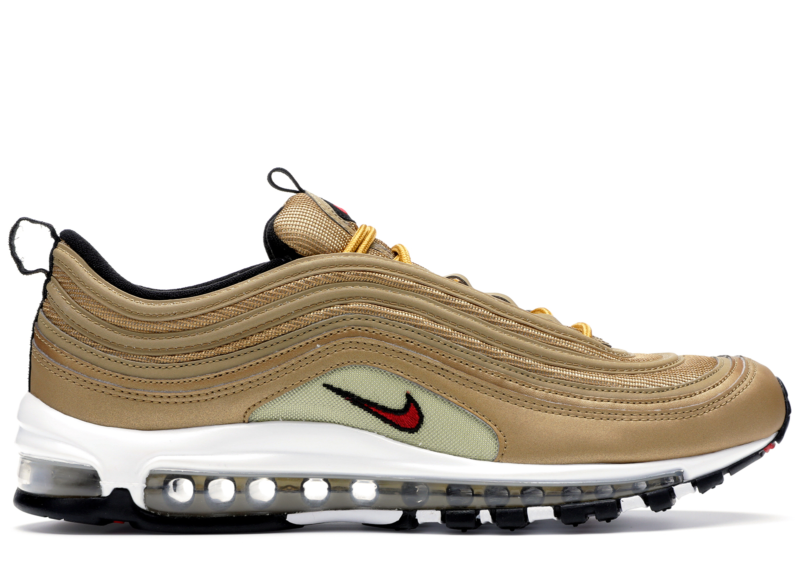Men's Shoes Nike Air Max 97 Gold Bullet Athletic Shoes