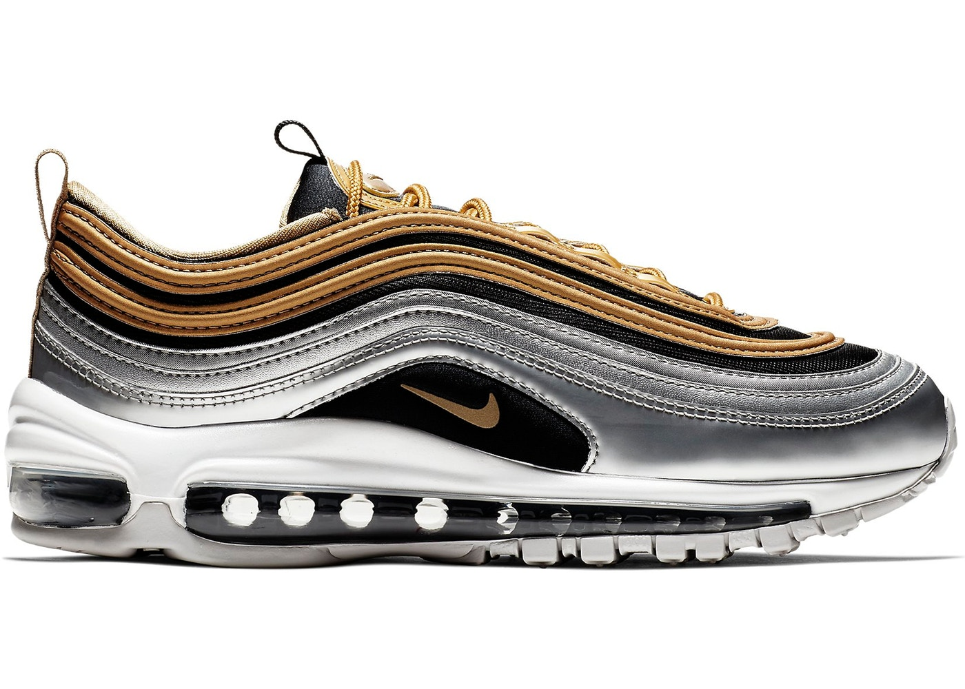 best authentic 69553 9a7fd Air Max 97 Metallic Gold Black (W)