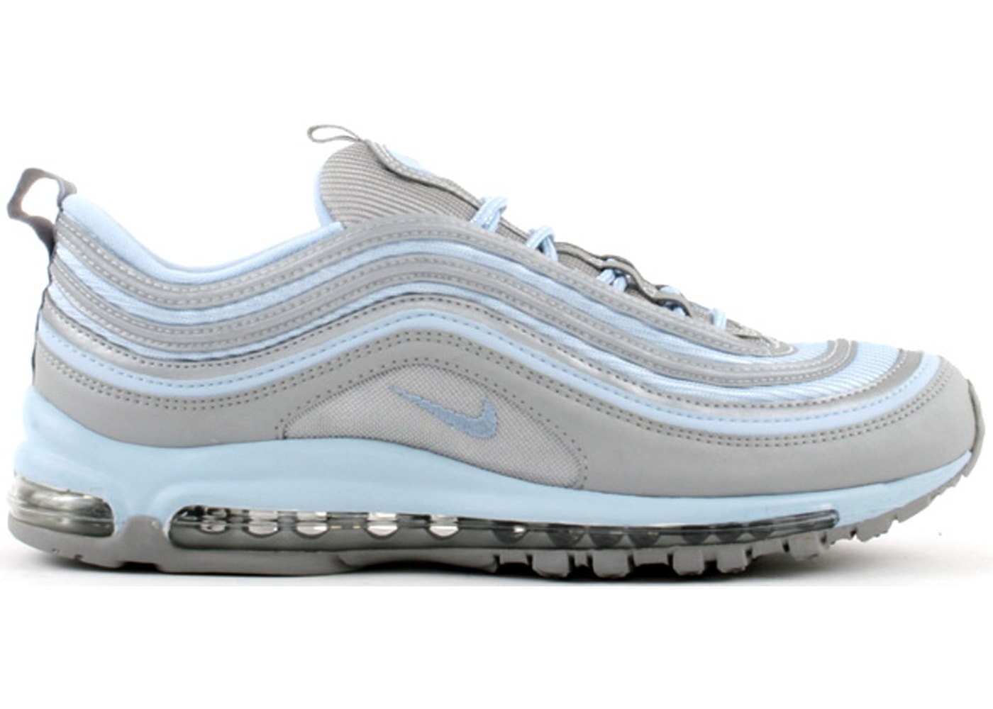 Nike Air Max 97 Metallic Silver Ice Blue W 605173 041