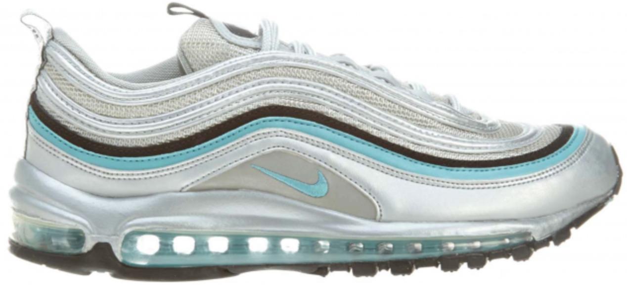 Nike Air Max 97 Metallic Silver Mineral Blue