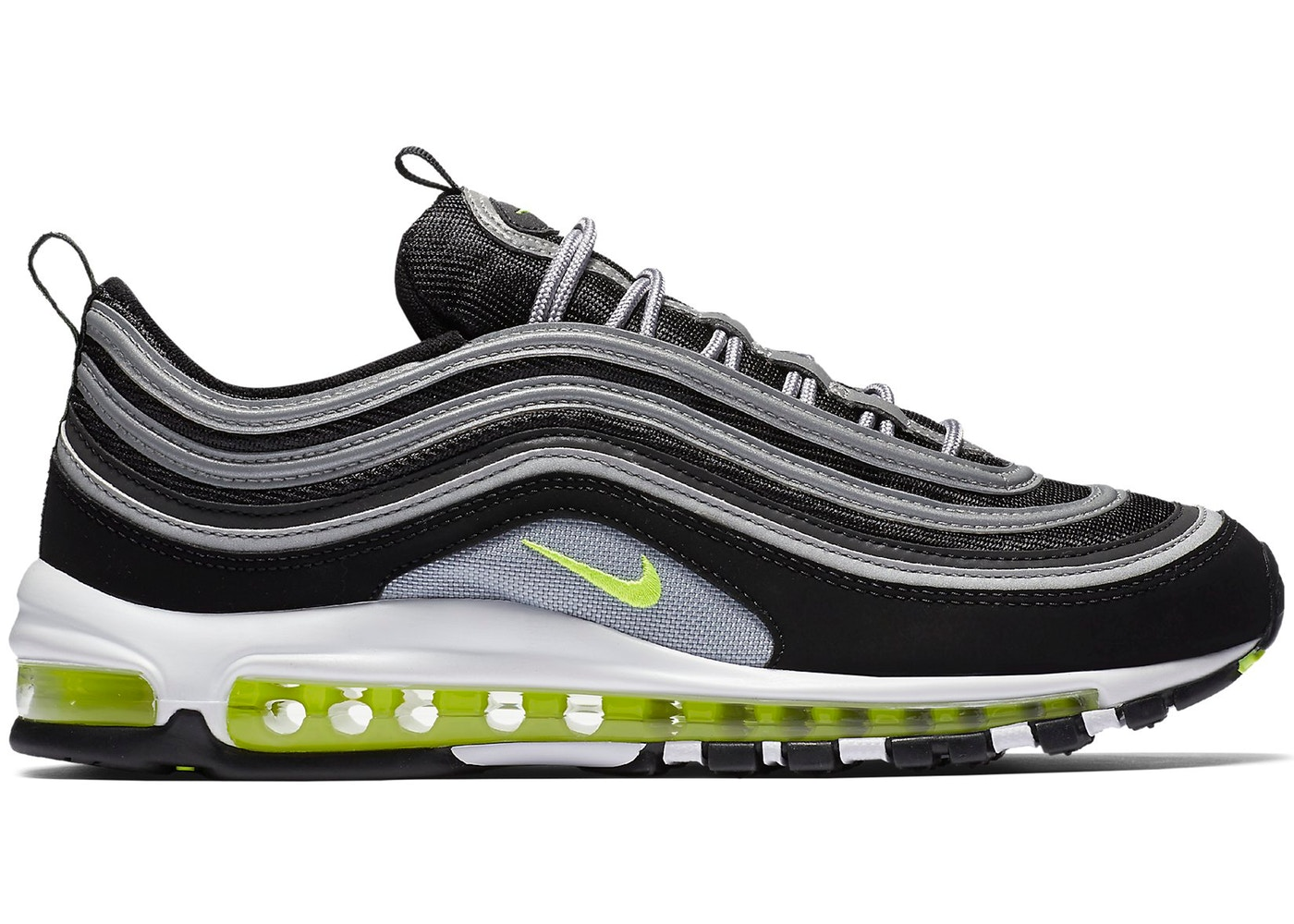 Nike Air Max 97 Women's Running Shoes Dark Grey/Volt/Stealth