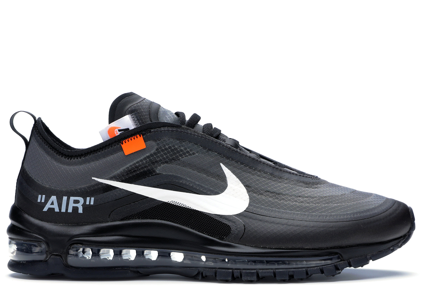 Air Max 97 Off-White Black - AJ4585-001