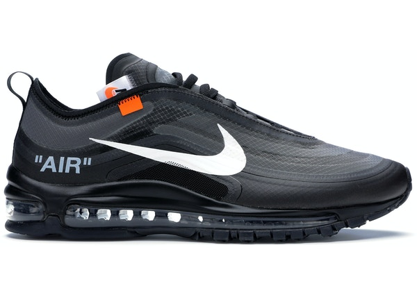new concept dc524 42457 Air Max 97 Off-White Black