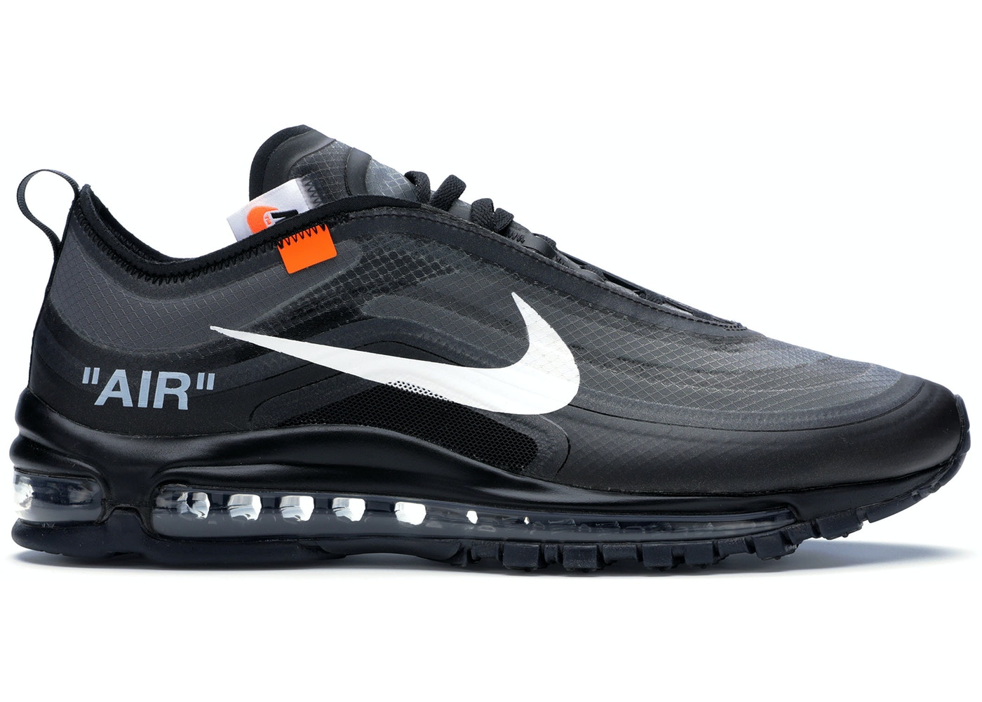 new concept a5408 d2ab3 Air Max 97 Off-White Black