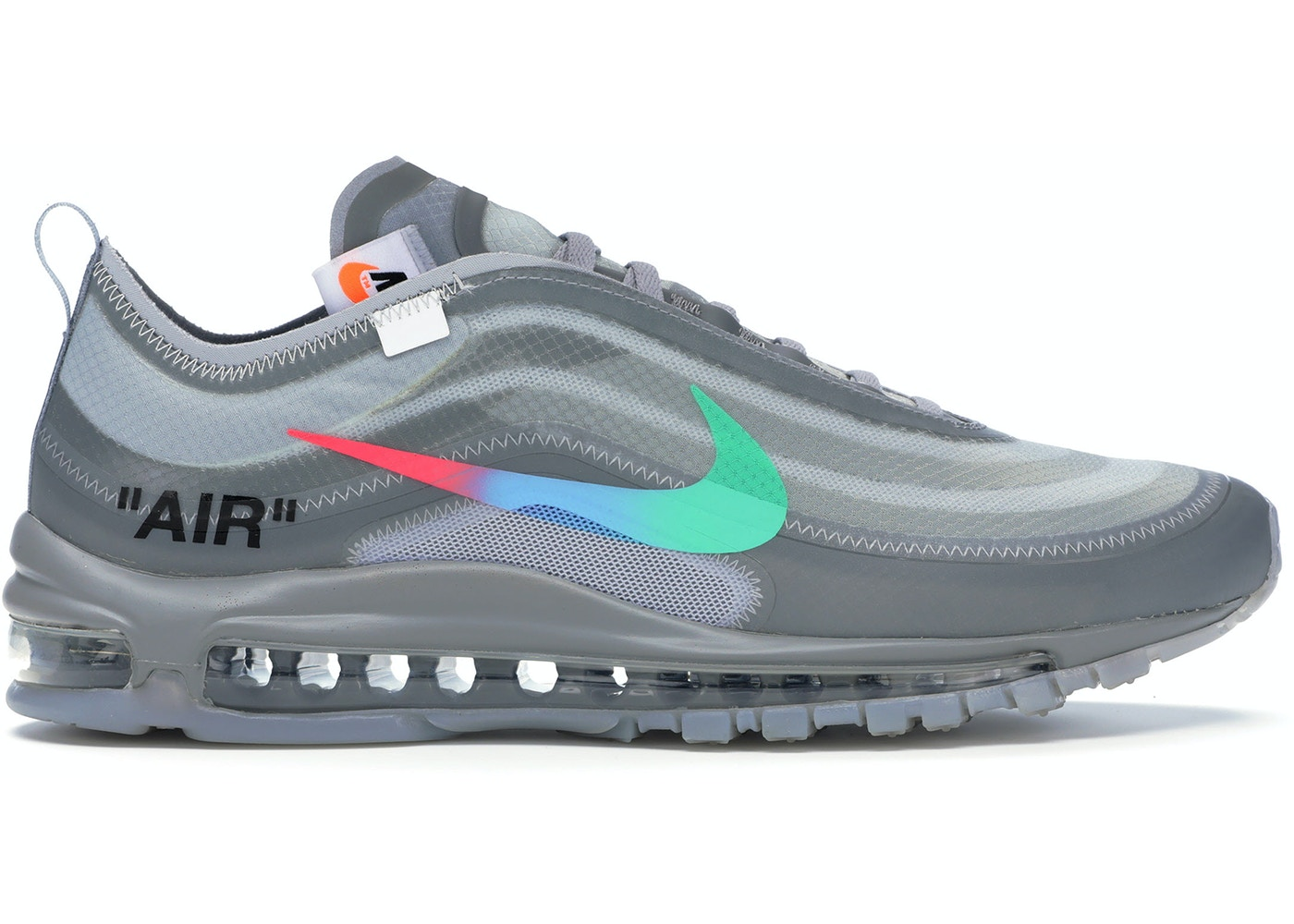Conception innovante 09bd5 d8f36 Air Max 97 Off-White Menta