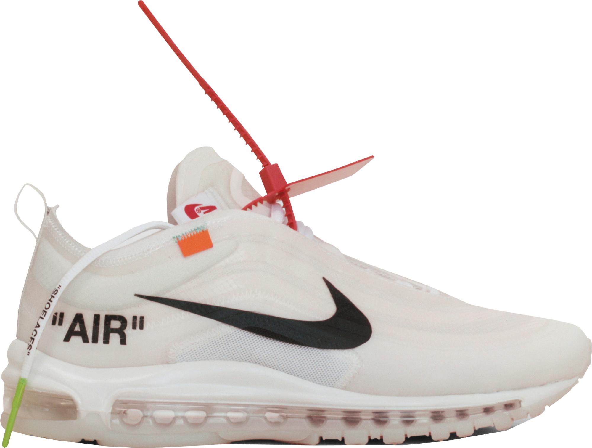nike air max 1997 off white