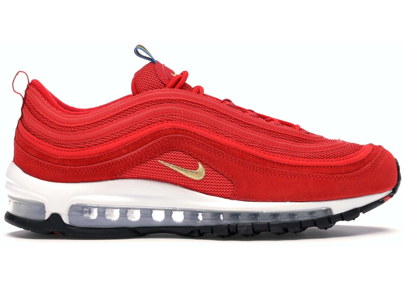 de madera Más que nada parilla  Nike Air Max 97 Olympic Rings Pack Red - CI3708-600
