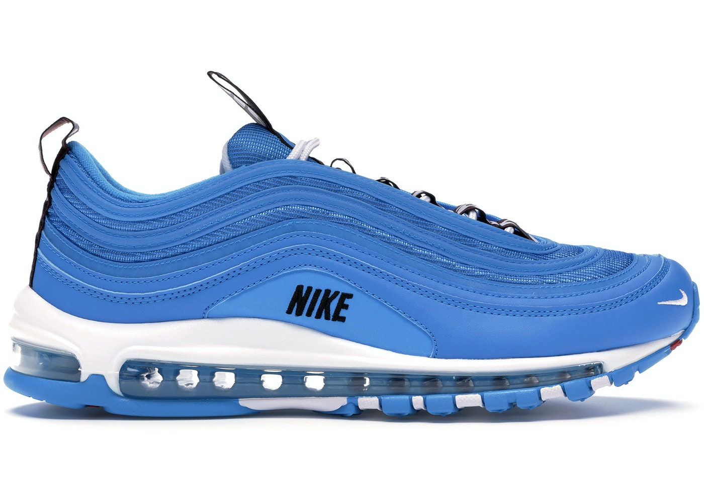 save off 6d0b4 71b23 Air Max 97 Overbranding Blue Hero