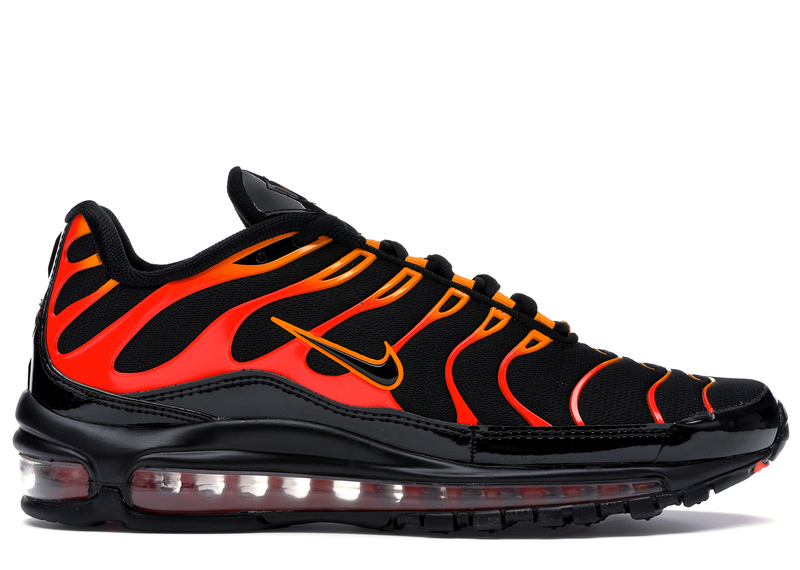 Air Max 97 Plus Black Shock Orange