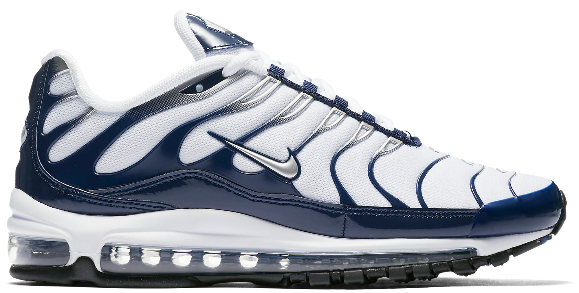 Air Max 97 Plus White Navy