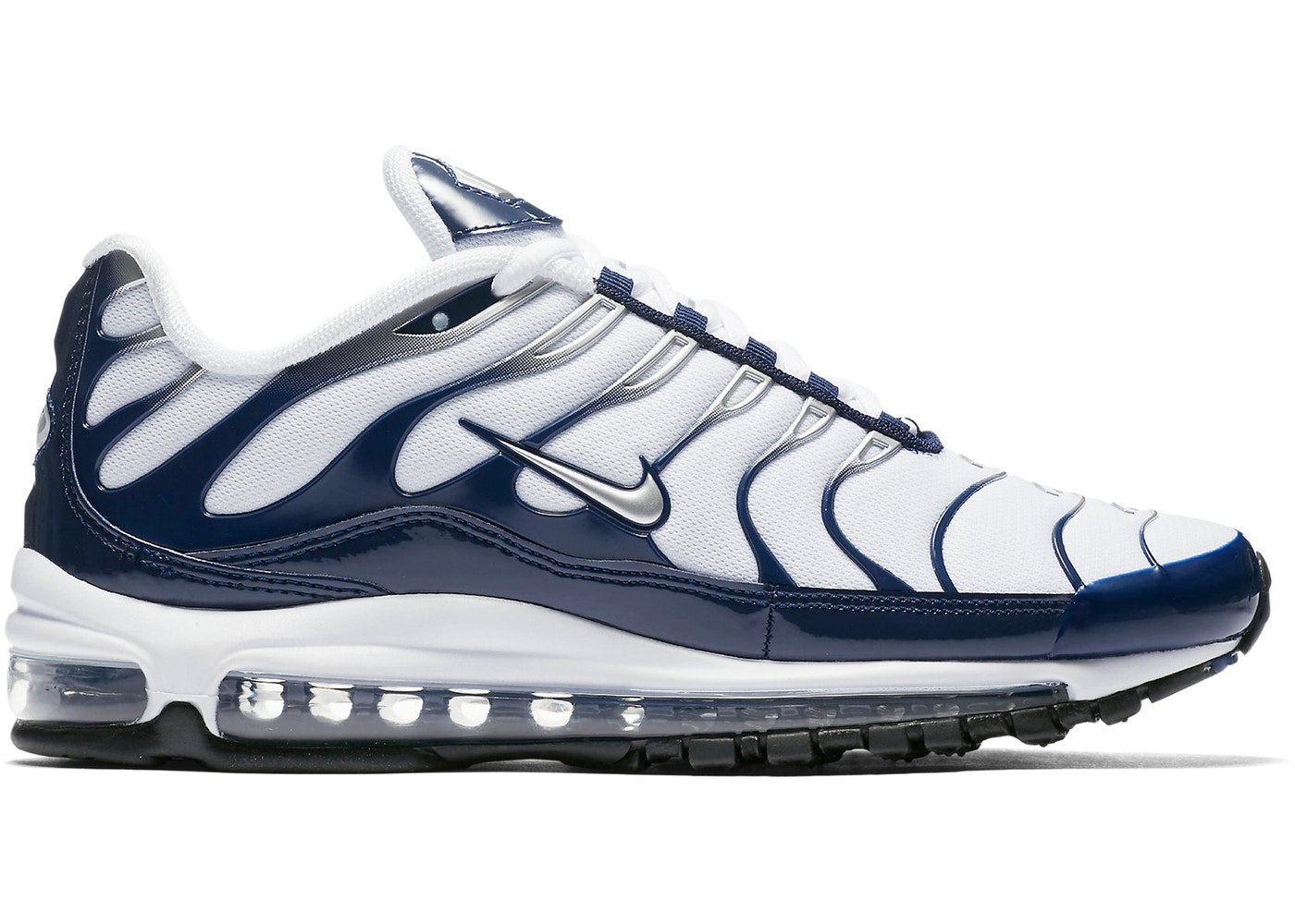 Air Max 97 Plus White Navy - AH8144-100 a694c7da5