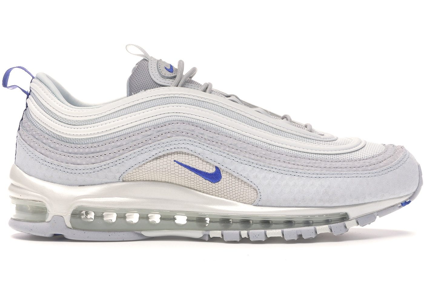 Nike Air Max 97 Pure Platinum Racer Blue 312834 009