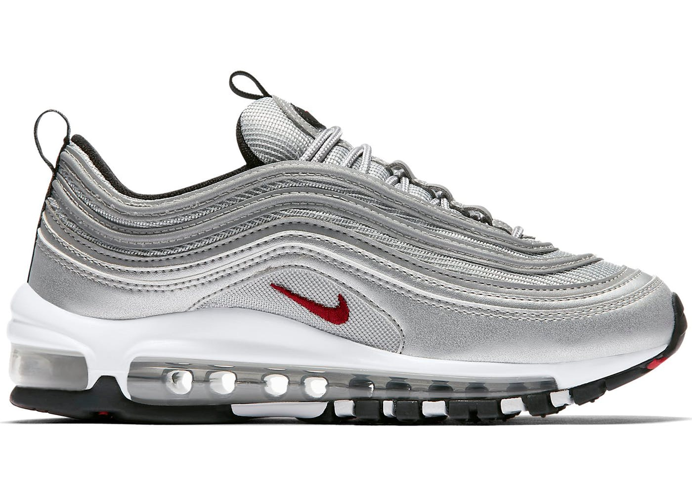 Cheap Nike Air Max 97 (Gold/Varsity Red)