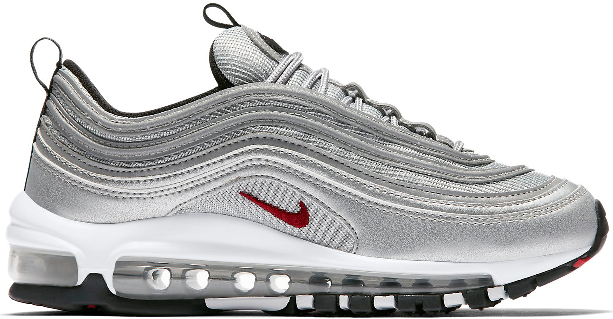 Nike Air Max 97 Red And Silver  f6b0a9de3