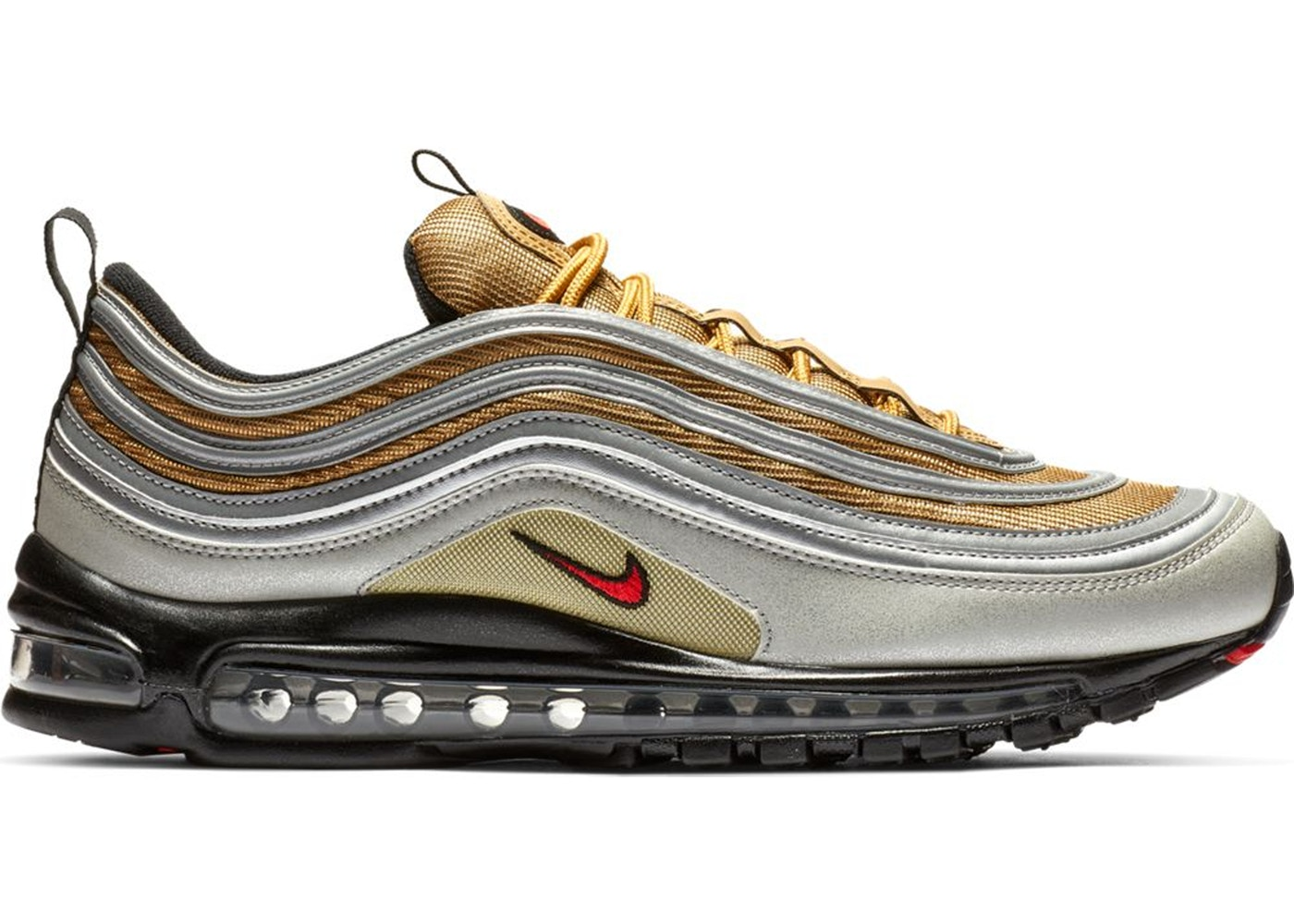 f9c56a46 Sell. or Ask. Size: 8.5. View All Bids. Air Max 97 Silver Gold