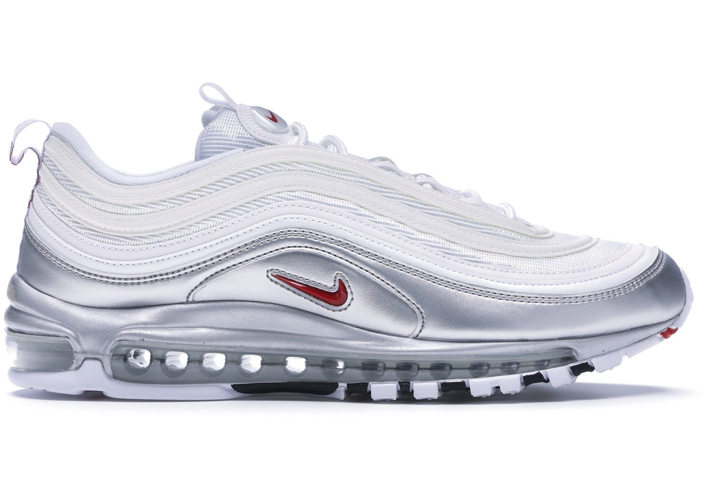 best service a4dbc 470b9 Air Max 97 Silver White