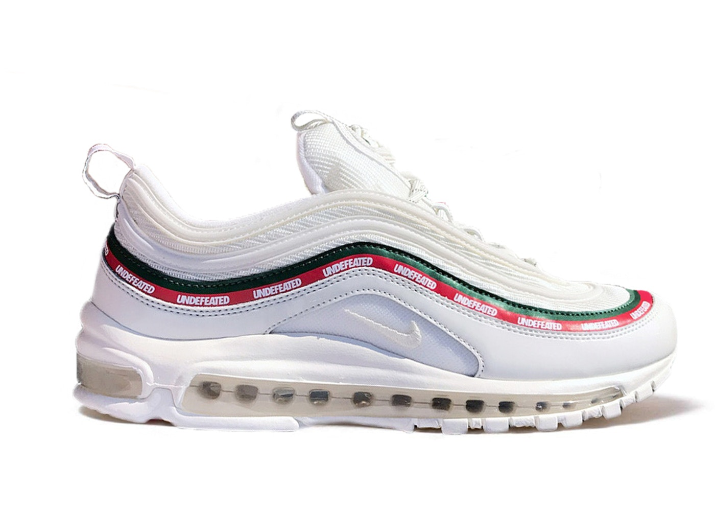 quality design 3a2e7 080bc Air Max 97 UNDFTD White