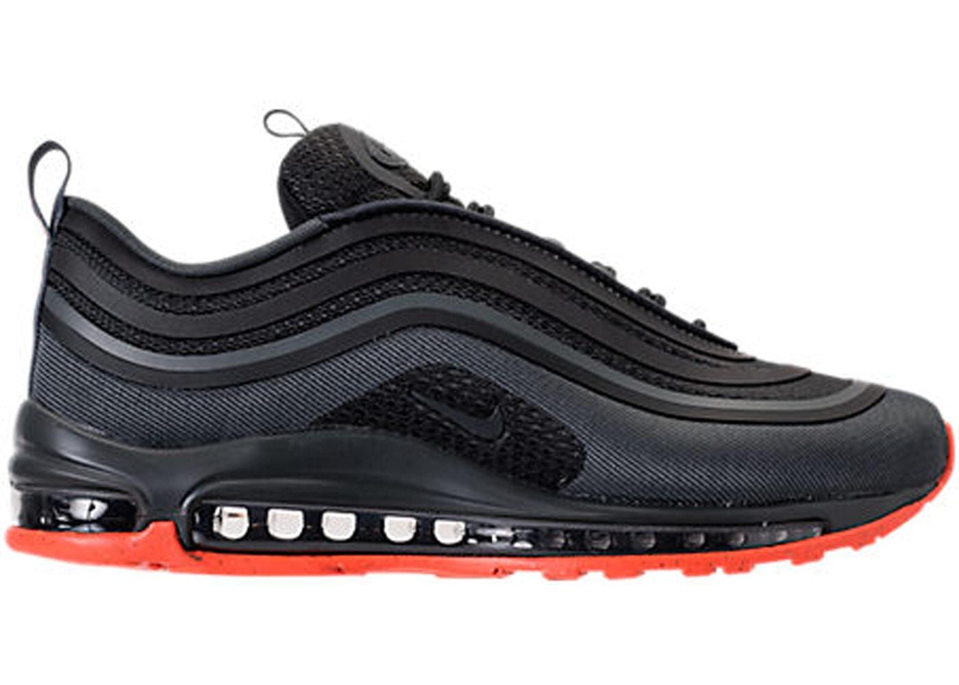 Nike Air Max 97 OG Black White Yellow 921522 005 Sneaker