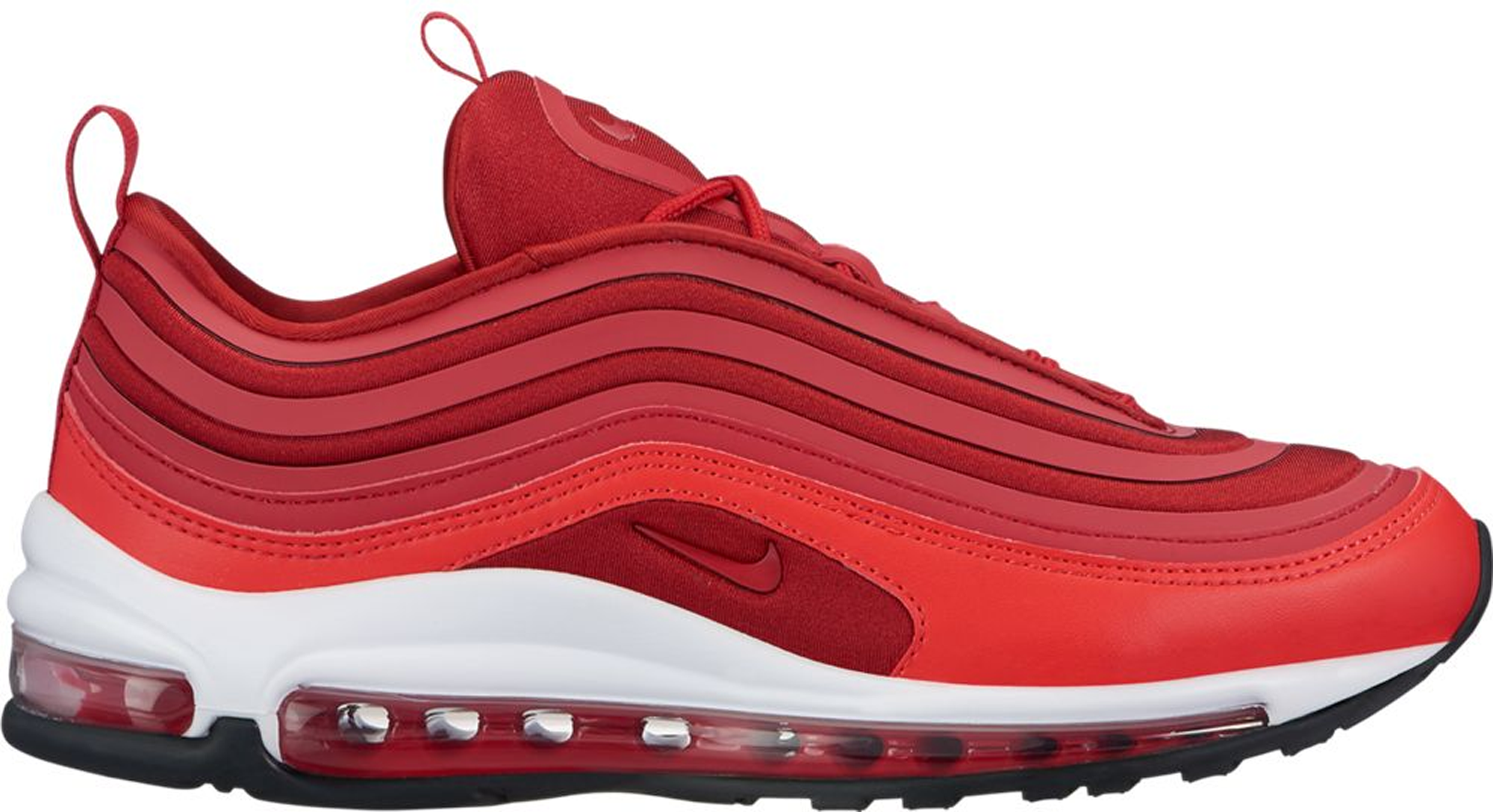 all red nike air max 97