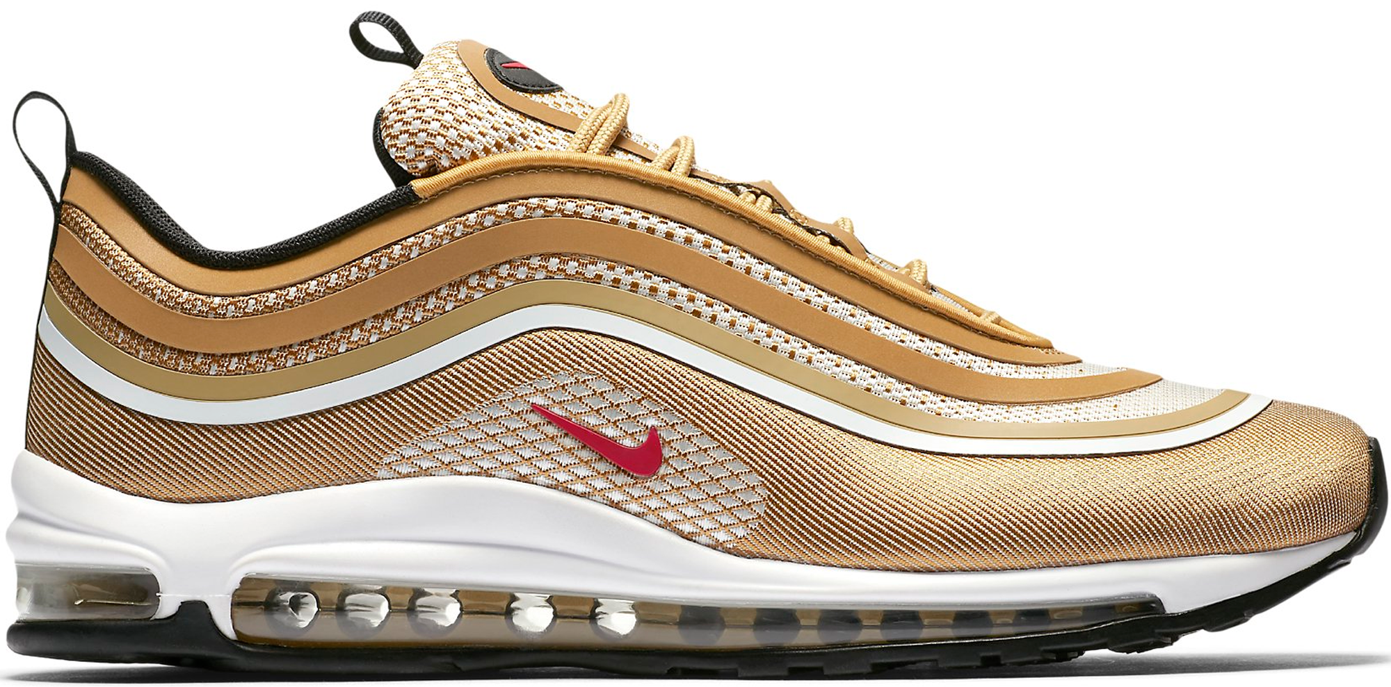 Nike Air Max Ticker Or Blanc