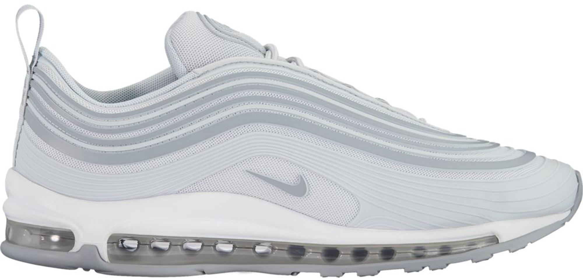 Nike Air Max 97 Ultra '17 Platinum, White & Grey   END.