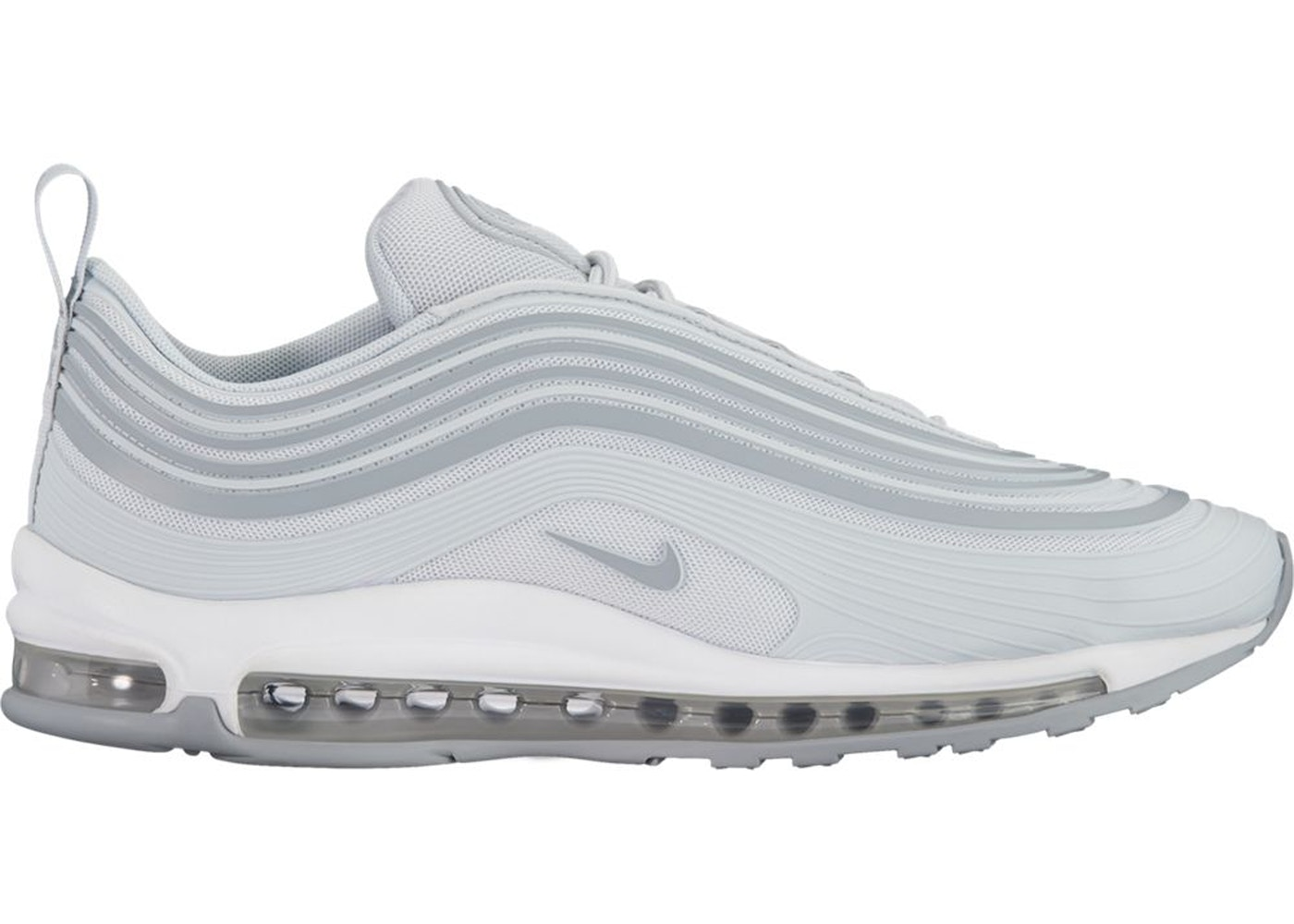 Nike Air Max 97 Ultra 17 Pure Platinum AH7581 001  AH7581 001