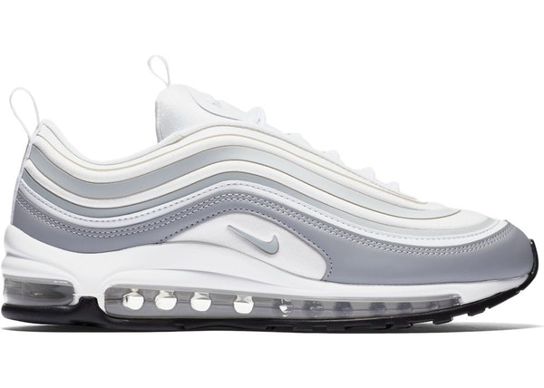 Women's Nike Air Max 97 Ultra WhitePure Platinum Wolf Grey 917704 102