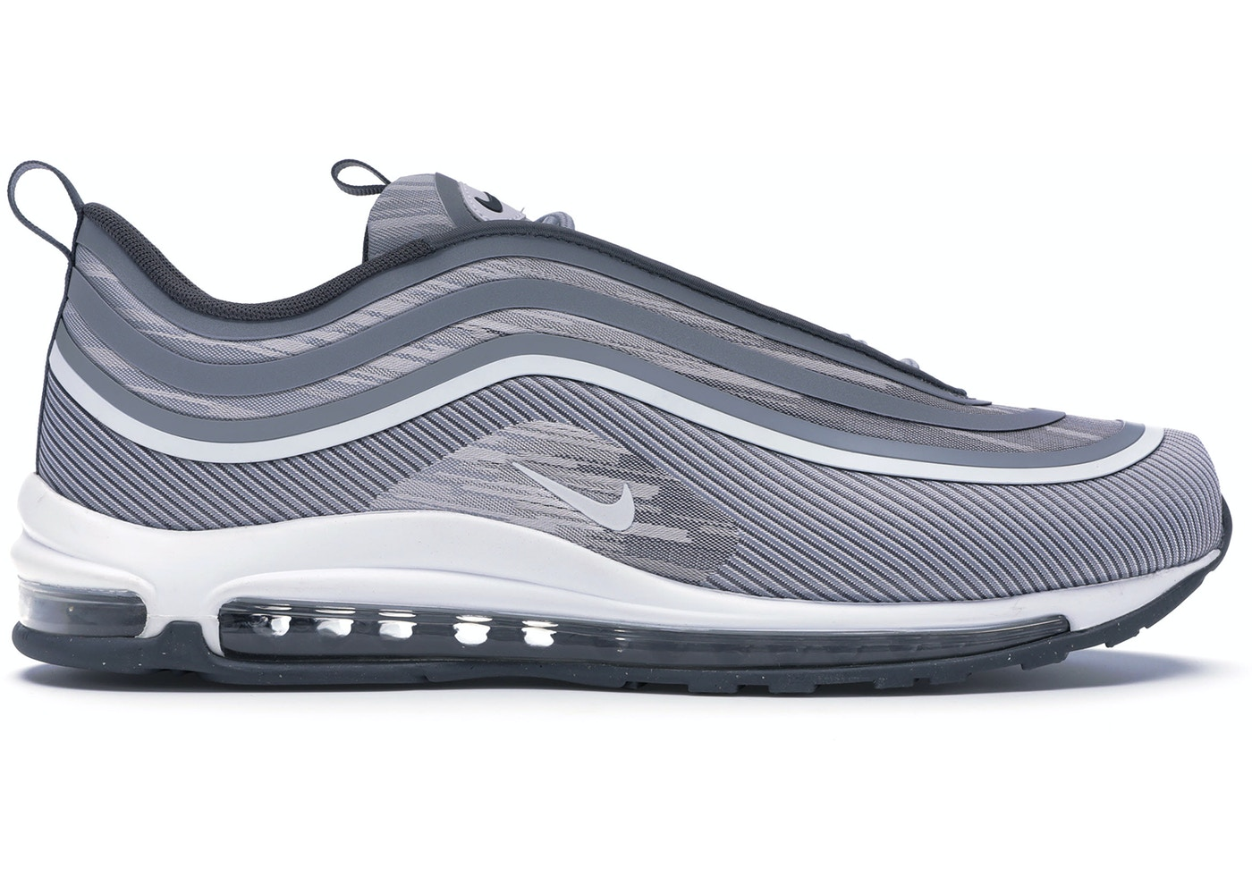 67c7aee131a1a Air Max 97 Ultra 17 Wolf Grey Dark Grey - 918356-007