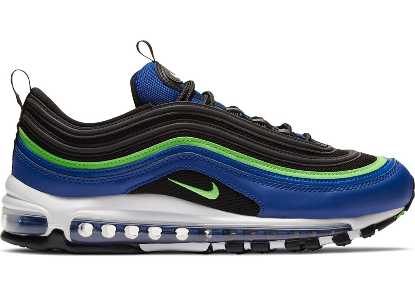 Nike Air Max 97 Hyper Blue Green Strike Cw5419 400