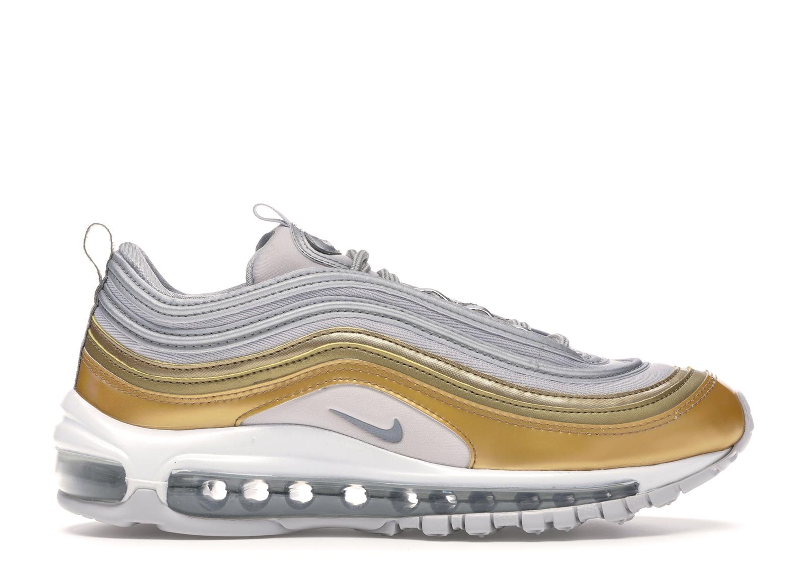 air max 97 gold silver black