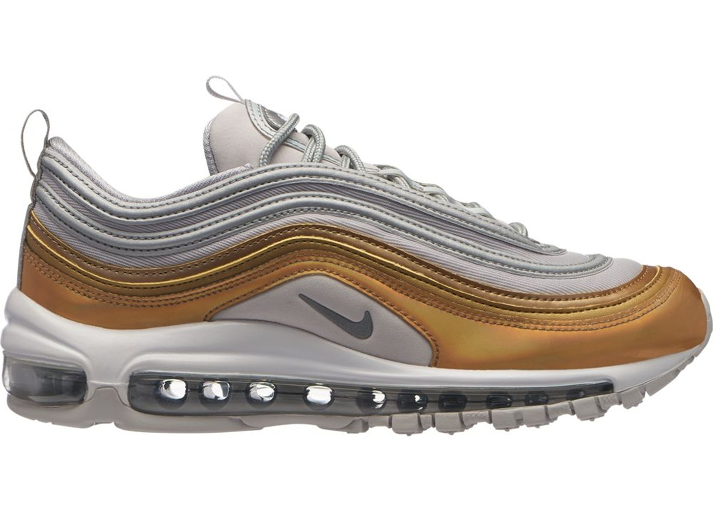 5b768338b63c1 Sell. or Ask. Size: 6.5W. View All Bids. Air Max 97 Vast Grey Metallic Gold  ...