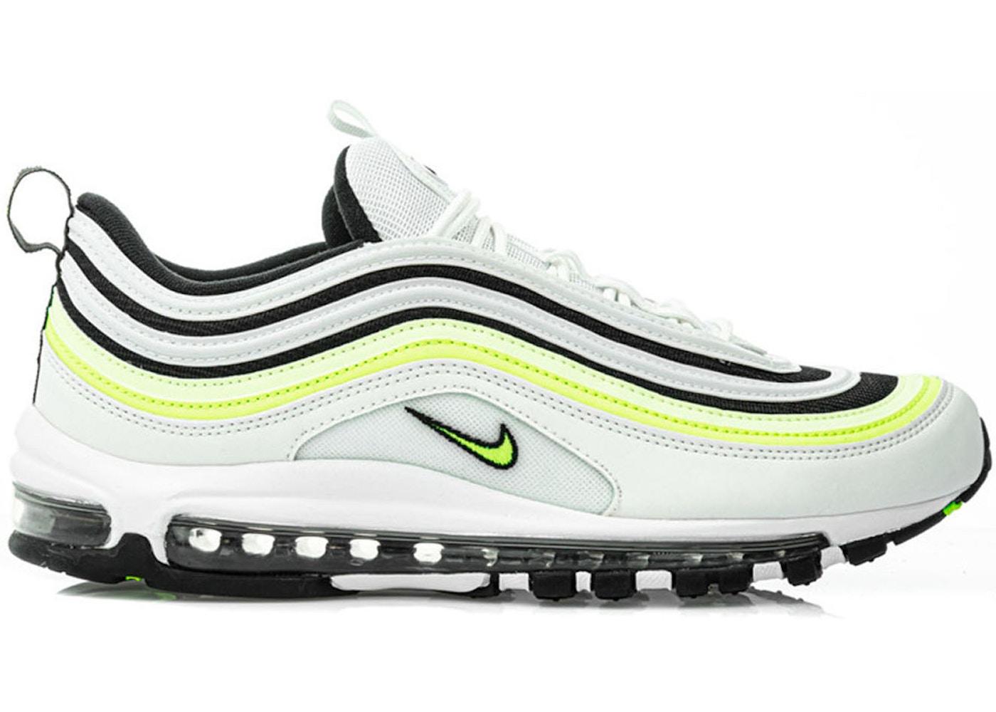 Nike Air Max 97 White Black Volt Aq4126 101