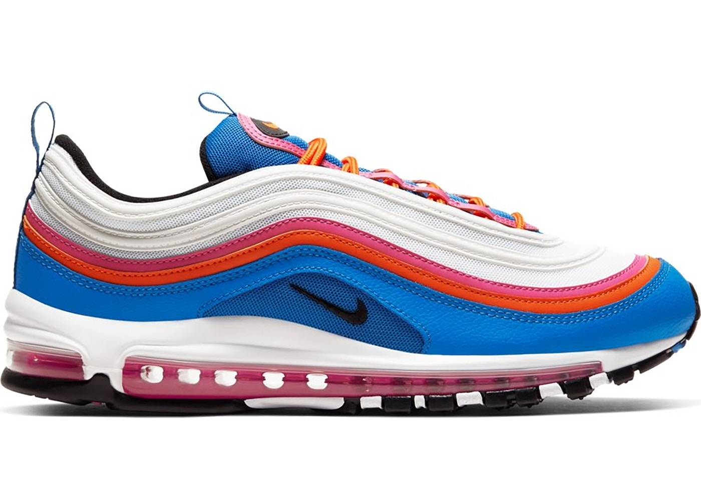 air max 97 bleu orange