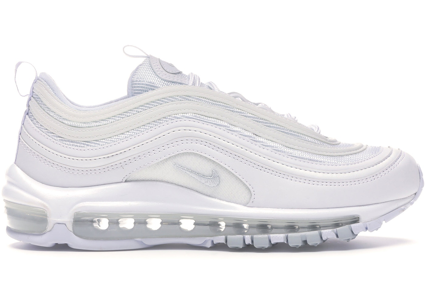 newest fa331 83504 Air Max 97 White Pure Platinum (W)