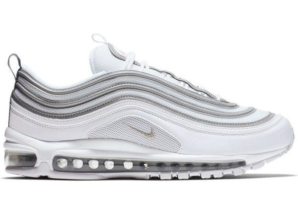 huge selection of 68227 545c6 Air Max 97 White Reflect Silver