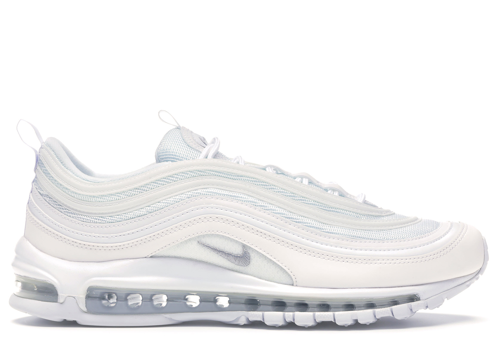 nike air max 97 triple white reflective