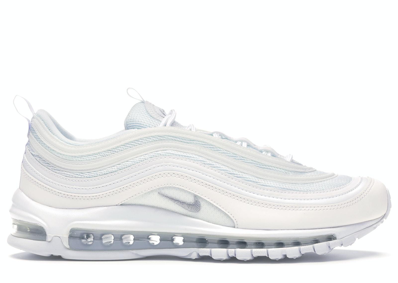 nike air max grey and white
